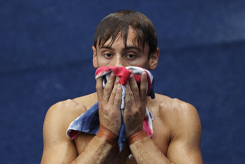 Christian group says 'turning gay' didn't help Olympic diver Tom Daley