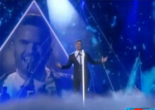 Out vocalist Brian Justin Crum gave us goosebumps singing this song
