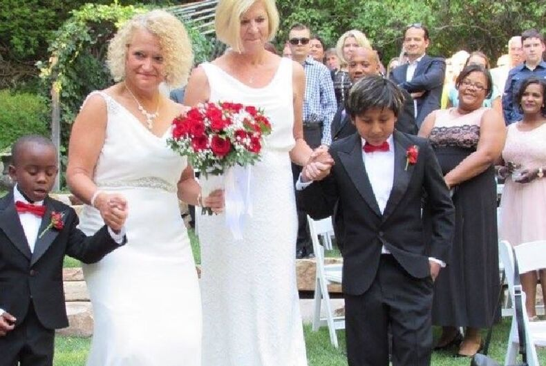 Congrats to the brides! Salt Lake City's out mayor marries her partner