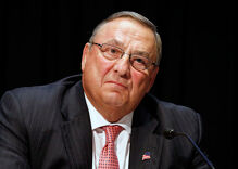 Maine GOP leaders call for closed-door meeting with governor over gay slur