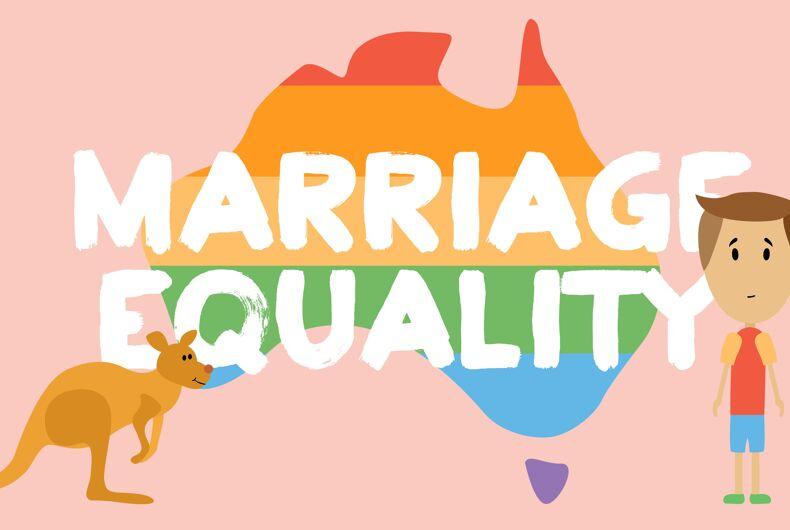 Gay senator opposes Australian plan for marriage equality