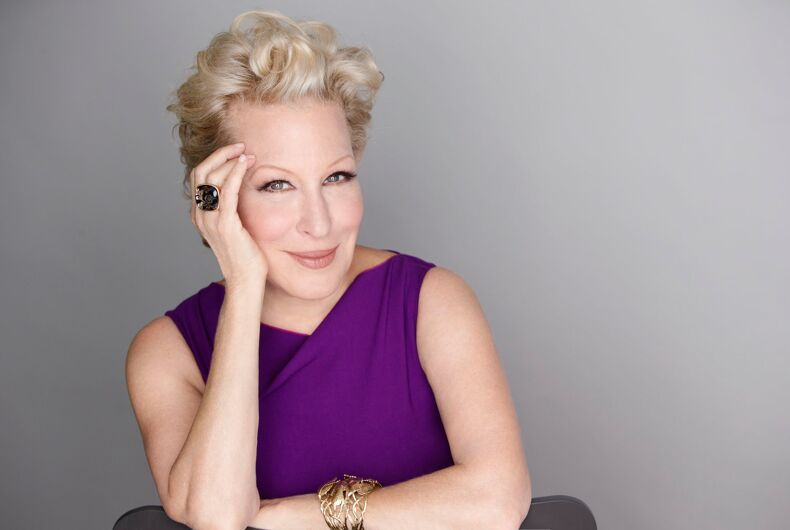 Bette Midler apologizes, sort of, for transphobic Caitlyn Jenner tweet