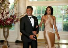 Russell Wilson and Ciara moved wedding from NC thanks to bathroom bill