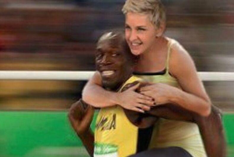 Is this tweet from Ellen DeGeneres racist?