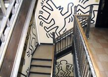 Will developers destroy a Keith Haring mural to make way for condos?