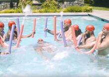 Is this what male synchronized swimming would look like?