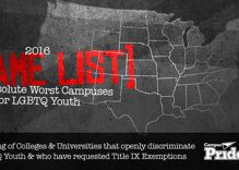 Which college campuses are the worst for LGBT students?