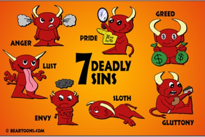 Don't tell the religious right: Trump embodies all seven deadly sins