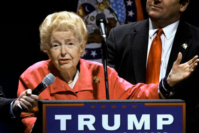 Homophobe, anti-feminist, and generally awful person Phyllis Schlafly dies at 92
