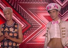 Two twinks bicker over undercooked chicken on X Factor and it is hysterical