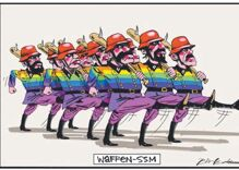 Murdoch-owned Australian paper publishes anti-gay Nazi political cartoon