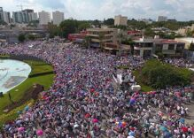 Thousands march in Mexican cities against marriage equality