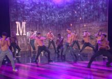 Channing Tatum previews Magic Mike Live on Ellen DeGeneres show