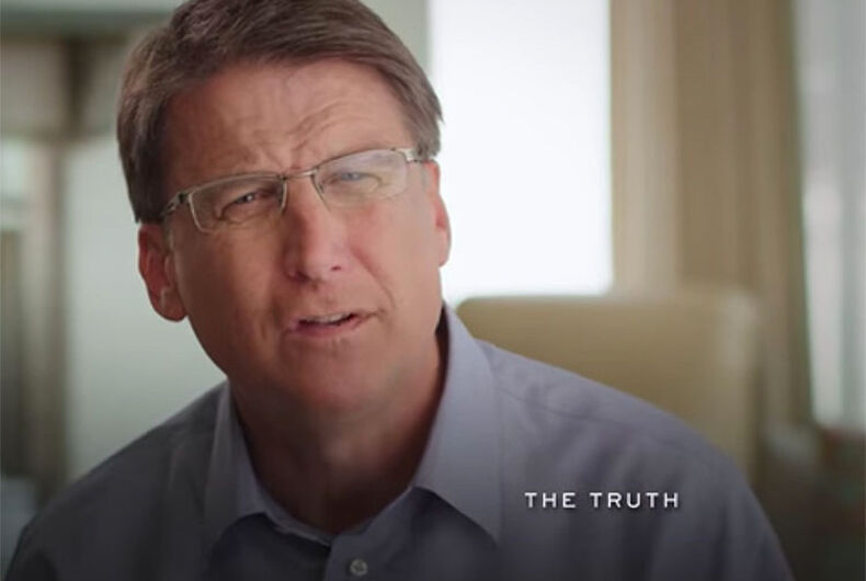 Gov. Pat McCrory: 'Let's do what's right,' deny transgender boys their rights