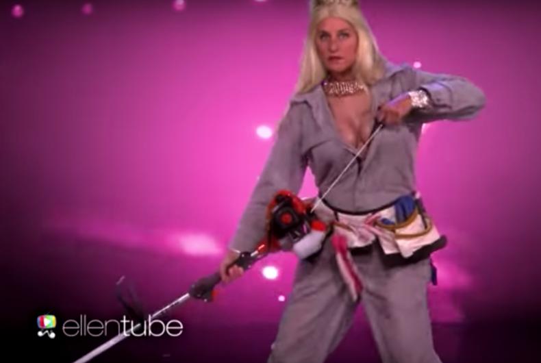 Oprah joins Ellen DeGeneres in all-female 'Magic Mike' parody