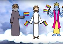 Gay YouTuber creates 'God Loves LGBT+' cartoon to model acceptance