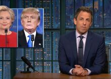 Seth Meyers won late night with his takedown of Trump's debate performance