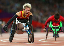 Gay paralympian seeks gold, then death by euthanasia