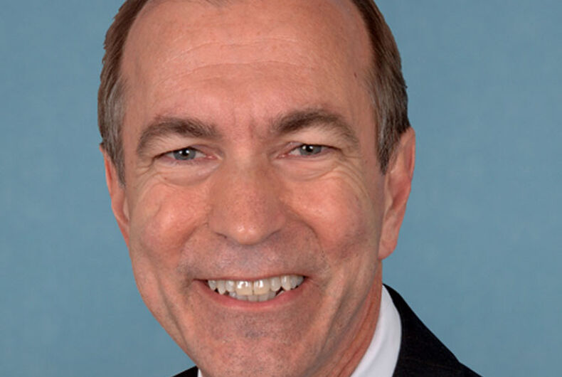 Could this be the last race for this antigay GOP congressman?