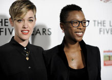 Samira Wiley & Lauren Morelli introduced their new baby to the world on Mother's Day