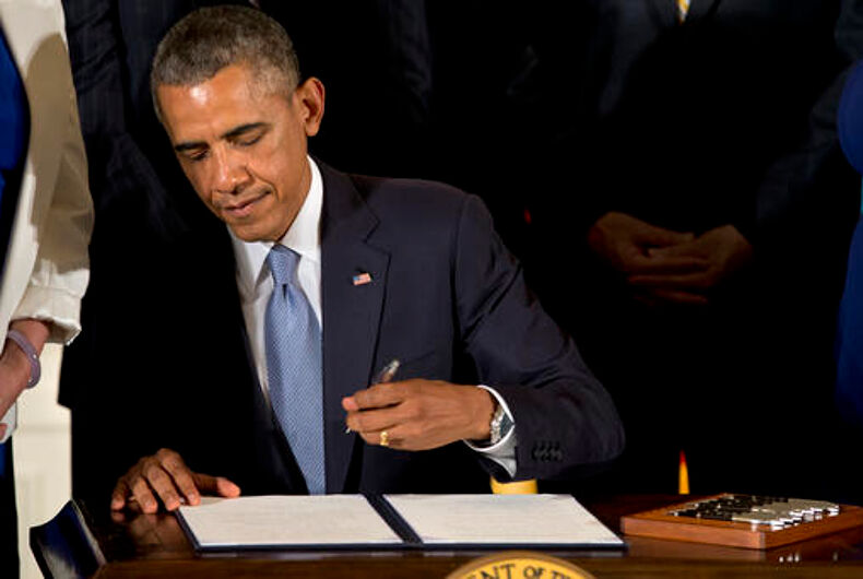 Obama's legacy: A quiet mission to export LGBT rights overseas