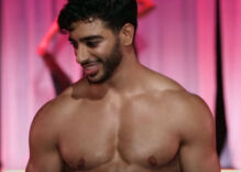Trans male model Laith Ashley stuns the Marco Marco runway in L.A.