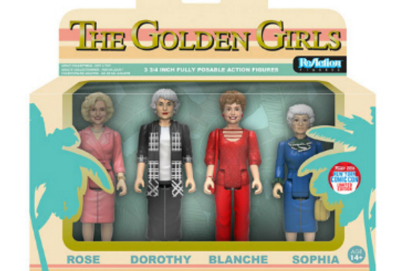 Exclusive 'Golden Girls' action figures to debut at New York Comic Con