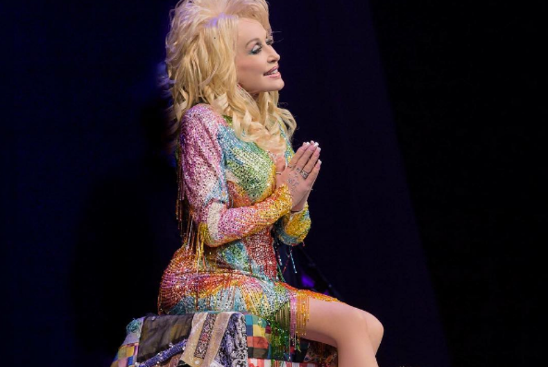 Watch: Dolly Parton tells Christians to stop judging gays and love more