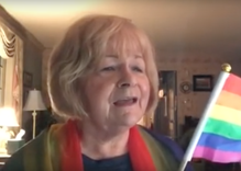 Watch: This Christian grandma sings a touching ode to the rainbow flag