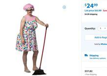 UPDATED: Walmart yanks 'tranny granny' Halloween costume from website