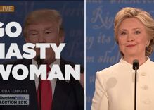 Watch: 'Nasty Woman vs. Bad Hombre' even better than 'Hillary Shimmy'