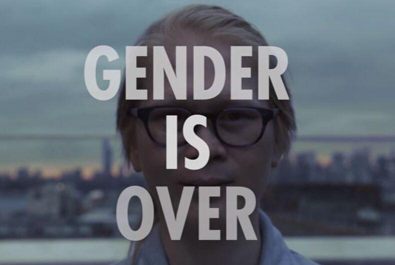 gender non-conforming