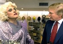 When Giuliani dressed in drag Trump couldn't keep his mouth off him either