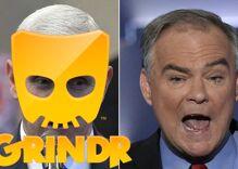 Did Grindr send a racist tweet during last night's vice presidential debate?