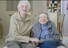 This adorable couple of 50 years want you to vote! Meet Lennie and Pearl