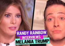 Watch: Melania Trump takes on critics in interview with Randy Rainbow