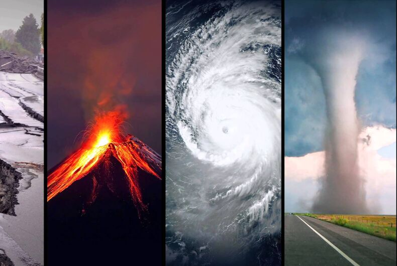 Why do Christians always blame LGBT people for natural disasters?