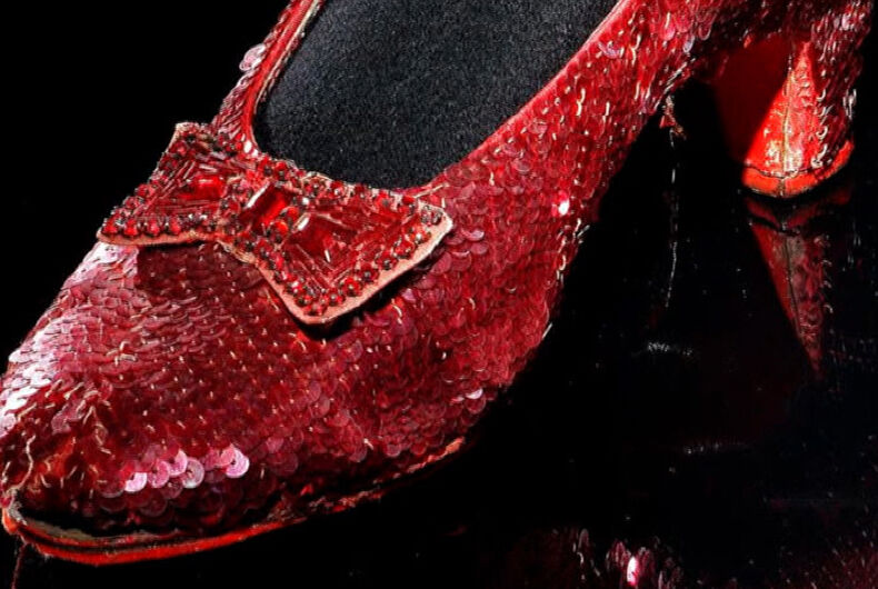 The Smithsonian is holding a fundraiser to restore Dorothy's ruby slippers