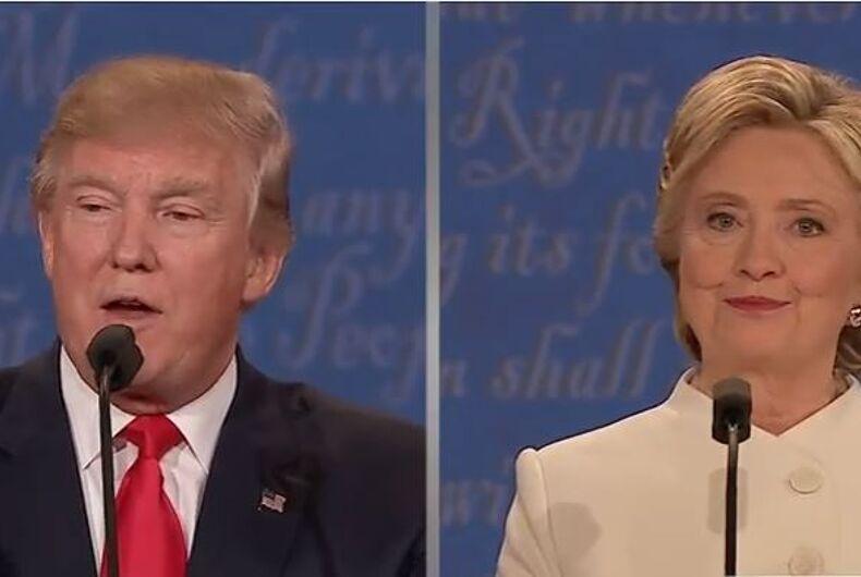 Clinton Trump third debate