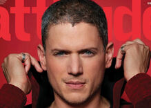Wentworth Miller, Attitude's Man of the Year, has a message for LGBT youth