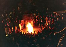 The night Bill Clinton won the presidency in 1992, the Castro exploded