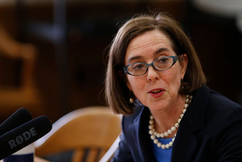 """Oregon's out governor signs bill banning gay & trans """"panic"""" murder defense"""