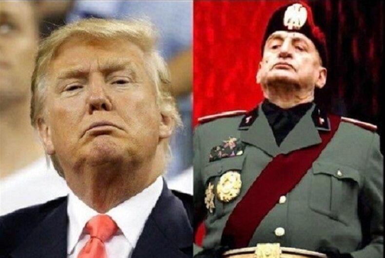 A cautionary tale: Donald Trump and Benito Mussolini's son-in-laws