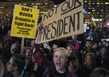 In the Trump age, civil disobedience is cast as 'terrorism' to squelch protest