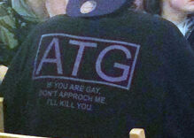 Police investigate antigay shirt that warns 'If you are gay… I'll kill you'