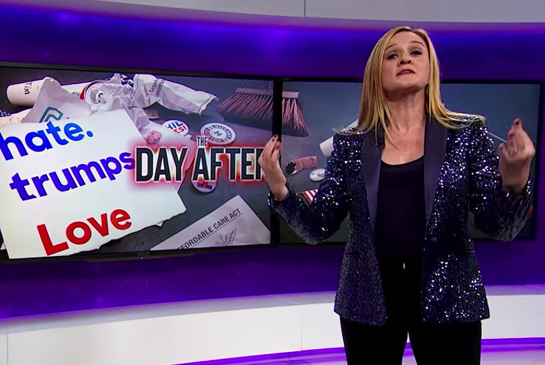 Who's to blame for Donald Trump victory? Samantha Bee says white women