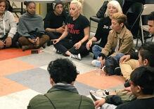 Madonna, Lady Gaga visit homeless LGBT youth at Ali Forney Center