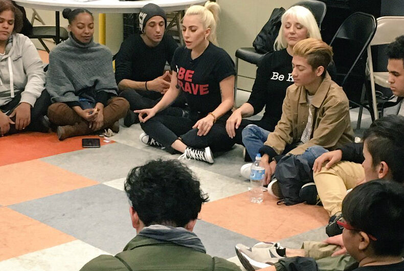 Lady Gaga opens up about her mental illness to LGBT youth