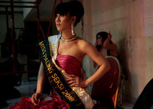 Secret pageant defies Islamic hardliners by crowning Indonesia Miss Transgender