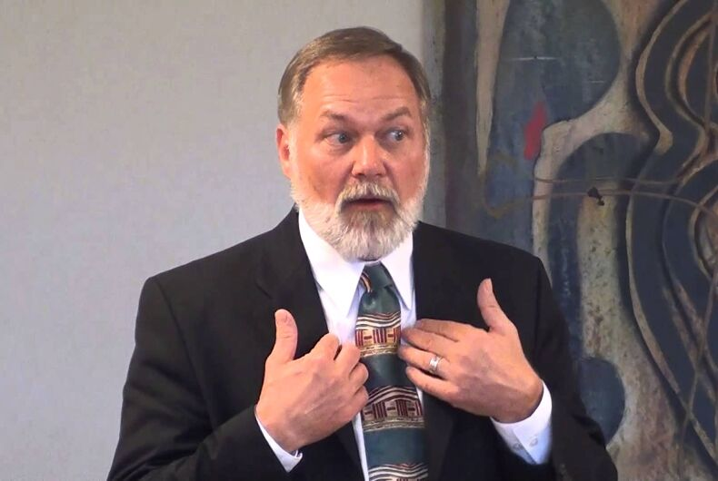 GOP candidate who blamed gays for the Holocaust now says he was misunderstood